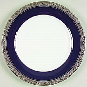 Noritake Crestwood Cobalt Platinum Dinner Plates BRAND NEW (Image1)
