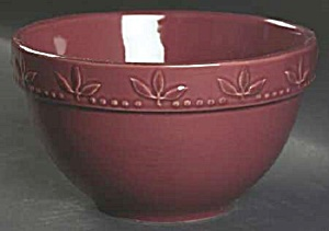 Signature Beaujolais Burgundy Deep Cereal Bowl