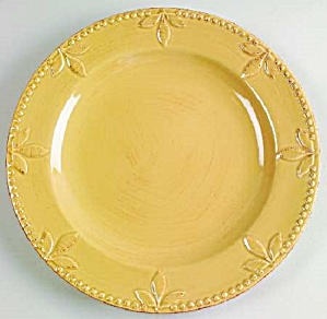 Signature Sorrento Wheat Gold Salad Plates
