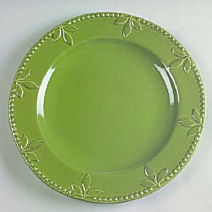 Signature Sorrento Oregano Green Dinner Plates