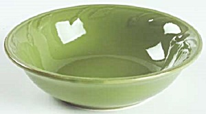 Signature Sorrento Oregano Green Cereal Bowl