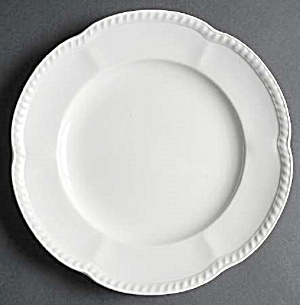 Johnson Bros Old English White Dinner Plates