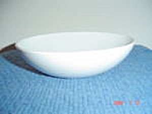 Centura White Coupe Serving Bowl