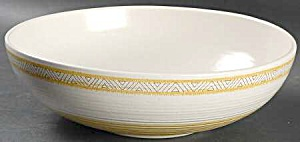 Franciscan Hacienda Gold Serving Bowl