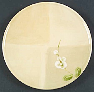 Crate & Barrel Orchid Salad Plates