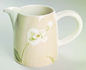 Crate & Barrel Orchid Creamer