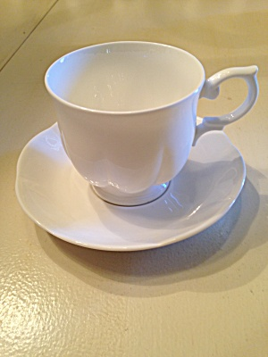 Block China Windsor Bone Cups And Saucers