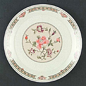 Vintage Lenox Temperware Coral Blossoms Dinner Plates