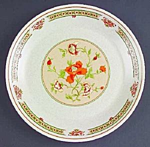 VINTAGE Lenox Temperware Coral Blossoms Salad Plates (Image1)