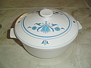 Nortiake Blue Haven 3 Quart Covered Casserole