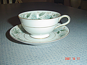 Noritake Argyle Cups And Saucers