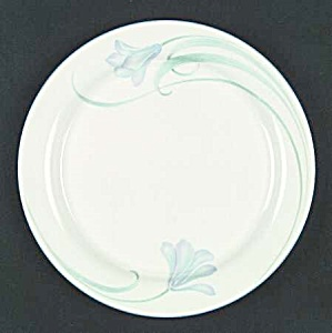 Lenox Chinastone Sky Blue Blossoms Dinner Plates