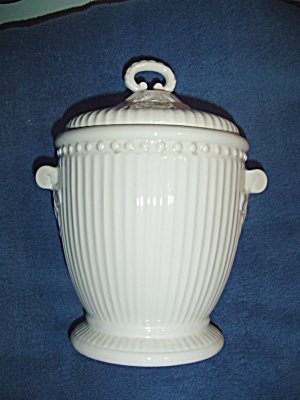 American Atelier Athena Large Covered Canister Flour Size No Lid Seal
