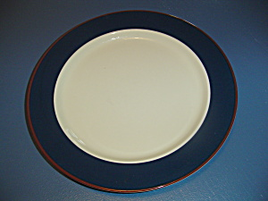 International Bands Of Celebration Success Cobalt Blue Dinner Plates