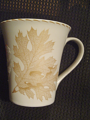 222 Fifth Gold Leaves Mugs