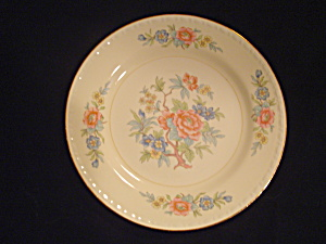Vintage Antique Homer Laughlin Bombay Bread And Butter Plates
