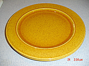 MPD - Italy Handpainted Brown Specks Chop/Platter (Image1)