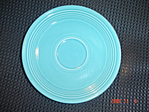 Homer Laughlin Fiesta Ware Turquoise Saucers