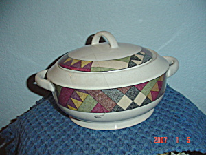 Mikasa Studio Nova Palm Desert Covered 2 Qt. Casserole