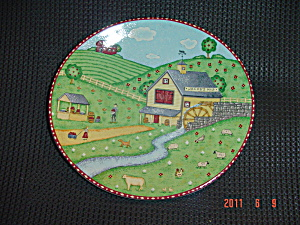 Sango Green Acres Salad Plates