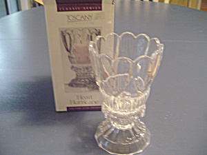 Toscany Heart Hurricane Candle New In Box