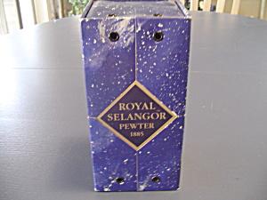 Royal Selangor Pewter Bud Vase 5 in. High NEW IN BOX (Image1)