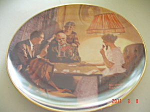 Knowles This Is The Room That Light Made Rockwell Collector Plate