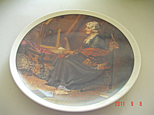 Edwin Knowles Mother's Day 1979 Rockwell Collector Plate