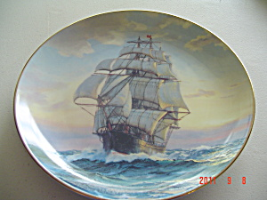 Knowles Young America, Homeward Bound Golden Age Collector Plate