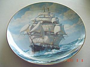 Knowles The Flying Cloud Rounding Cape Golden Age Collector Plate