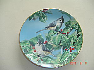 O'driscoll Tufted Titmouse Favorite American Songbirds Collector Plate