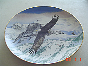Hamilton Eagle Soars Tail Majesty Of Flight Collector Plate