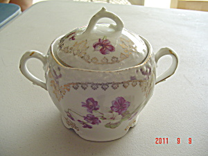 Vintage Richmond Covered Sugar Bowl