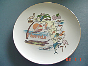State Of Florida #2 Collector Plate