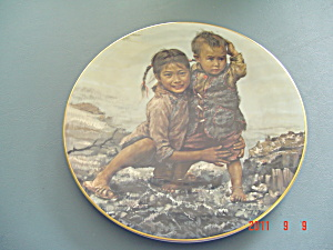 Bradex Children Of Aberdeen Brother And Sister Collector Plate