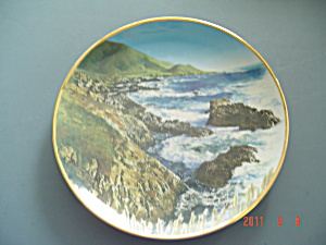 Hamilton Sea To Shining Sea Wild Boar Big Sur Collector Plate