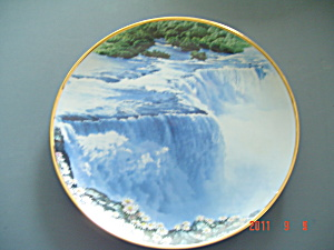Hamilton Sea To Shining Sea Raccoon Niagara Falls Collector Plate