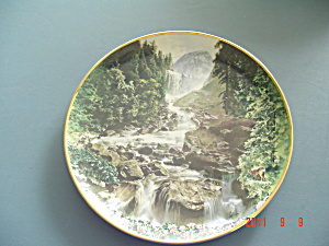 Hamilton Sea To Shining Sea Black Bear Yosemite Collector Plate