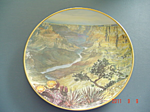 Hamilton Sea To Shining Sea Mule Deer Grand Canyon Collector Plate