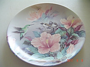 Bradex-george Nature's Harmony Lena Liu Poetry Collector Plate