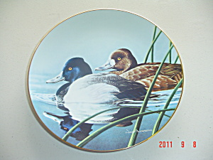 Bradex The Lesser Scaup Federal Duck Stamp Collector Plate