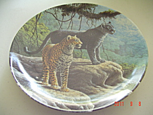 Knowles The Jaguar Great Cats Of Americas Collector Plate