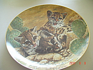Hamilton Eyes Of Wonder Small Wonders Wild Collector Plate