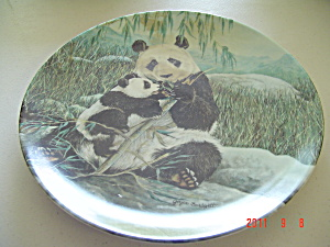 Ws George A Mother's Care Panda Collector Plate