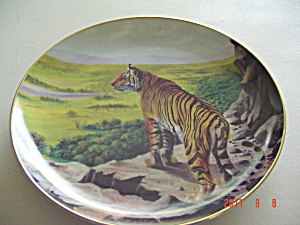 Hamilton Above The Treetops Big Cats Collector Plate
