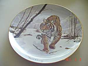 Hamilton On The Prowl Big Cats Collector Plate
