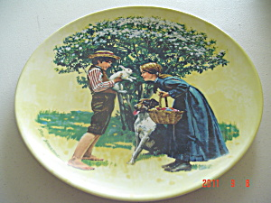 Knowles Easter American Holidays Collector Plate