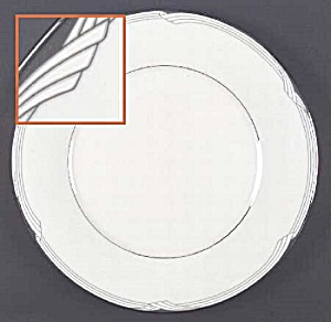 Noritake Sterling Cove Dinner Plates - Mint