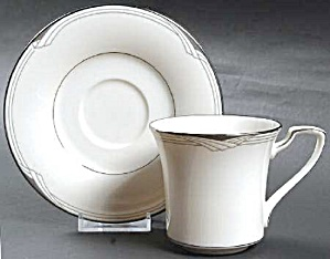 Noritake Sterling Cove Sets Of Cups And Saucers - Mint