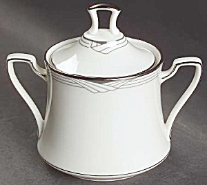 Noritake Sterling Cove Covered Sugar Bowl - Mint